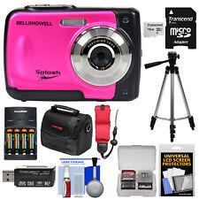 Bell & Howell Splash WP10 Shock & Waterproof Digital Camera (Pink) Bundle