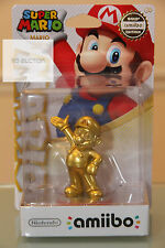 LIMITED EDITION AUTHENTIC Gold Mario Bros. Amiibo W/Free Shipping!! IN HAND NOW!