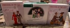 Department 56 Christmas in the City Cic Accessories Lot of 3 Dept. 56