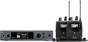 Sennheiser EW IEM G4 Wireless In-Ear Monitor System Twin Body pack & phones
