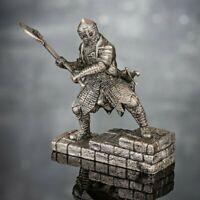 Toy Soldiers Painted Knight 1//32 Saracen Faris Soldier 54mm Metal figurune