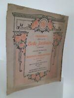 Calendario 1912 La Bonita Jardinerie Recuerdo Mtrs Holandés Xvii S. 4 Impresión