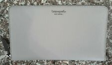 NWT KATE SPADE CAMERON LARGE TRAVEL WALLET LEATHER ORGANIZER SOFT TAUPE $ 229.00
