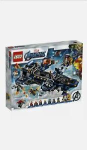 LEGO 76153 Marvel Super Heroes Avengers Helicarrier Brand New Sealed