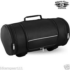 New Motorcycle Motorbike  Matt Cordura Textile Roll Sisy Bar Luggage Bag