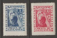 Spain local, cinderella revenue fiscal Stamp  12-24-20-1f mnh gum/ gum is stain