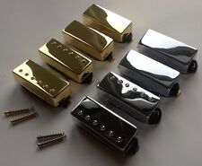 Mini humbucker pickup: Alnico V magnet A 5: Chrome / Gold cover: bridge / neck