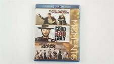 Butch Cassidy & Sundance Kid/Good,Bad,Ugly/Magnifi cent Seven (Blu-ray,3-Disc)