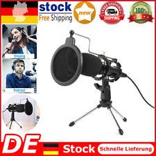 Kondensator Mikrofon-Kit Studio Pro Audio USB-Mikrofon Aufnahme für Laptop PC