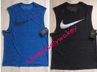 Nike Breathe Men's Running Dry Tank  Vest Top Breathe DRI-FIT Singlet