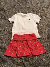 Ralph Lauren Girl's 9 Months Outfit