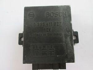 Mercedes Benz Steuergerät Alarmanlage Relais 12v Bosch 0 335 411 027 gebraucht