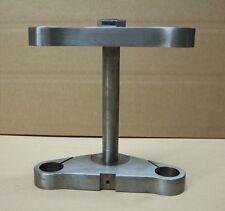 CPO Gabelbrücken Set Harley 5° gereckt 35mm Rohre FXR XL bis 2003 Stahl blank