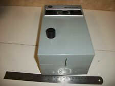 General Electric CR306 Magnetic Starter NEMA Size 00 with optional H-O-A Switch