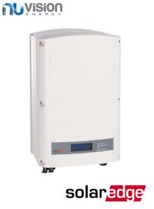 SolarEdge 5kW Three Phase Solar Inverter E-series 12 Years Warranty WITH SCREEN!
