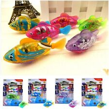 Interactive Swimming Robot Fish Toy for Cat with LED Light 100% NEW