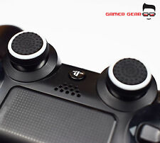 2 X COPERTURA IN GOMMA Thumb Stick Grip ps3 ps4 Xbox One Controller Analogico-B&W A righe
