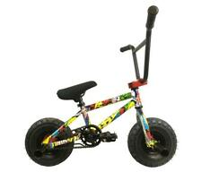 "New Limited Edition 1080 Colour Cartoon Comic Mini BMX Bike Bicycle 10"" Wheels"