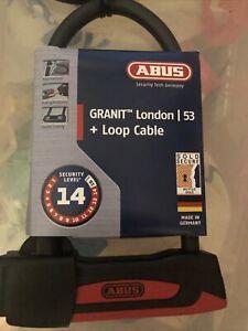 ABUS Granit London 53 Lock and Loop Cable