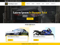 Car Detailing Website / Shop + FREE Domain & Hosting included!