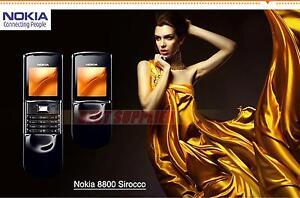 Nokia 8800 Sirocco 8800s Unlocked 2.0MP Original 2G GSM 128MB Internal Memory