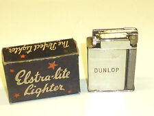 ELSTRA-LITE VINTAGE LIFTARM POCKET ROLLER LIGHTER - OVP - 1940 - ENGLAND- NICE