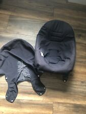 Stokke Xplory V3 Seat Cover And Back Part Fabric Dark Navy