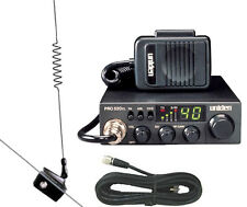 PRO520XL 18-258 UNIDEN 40-Channel CB Radio With Midland Glass Mnt. Antenna Kit