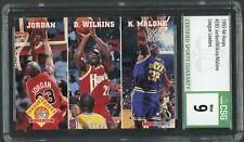 1993-94 NBA Hoops League Leaders #283 Michael Jordan Graded CSG 9 MINT