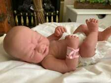 Made To Order Adorable Reborn Baby Girl Mia Newborn Full Silicone Vinyl 3+