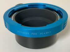 Fotodiox Pro PL Mount Lens to MFT M4/3 M43 Adapter