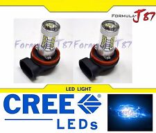 CREE LED 80W H11 BLUE 10000K TWO BULB HEAD LIGHT FOG JDM COLOR LAMP REPLACEMENT