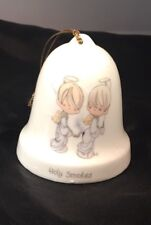 "Precious Moments 1985""Holy Smokes"" Bell By Enesco"