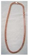 HEAVY CHAIN LINK PURE COPPER DELUXE MENS NECKLACE metal health pain relieve new