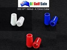"""12x .355"""" Colored Color Golf Iron Ferrule with Collar -.87/.560OD"""