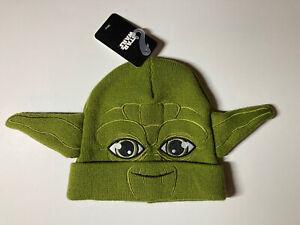 Yoda Star Wars Beanie Brand News | VERY GOOD | Free Shipping