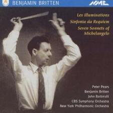 Benjamin Britten : Les Illuminations / Sinfonia da Requiem CD (1995) ***NEW***