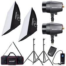 Neewer 180W 5600K Bowens Mount Photo Stuido Flash+Softbox+Trigger&Receiver KIT
