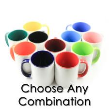 36pcs Sublimation 11oz Coffee Mugs Blankstwo Tone Color 12 Color To Choose