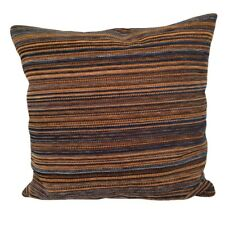 """Colorful Striped Upholstery 18x18"""" Decorative/Throw Pillow Case / Cushion Cover"""