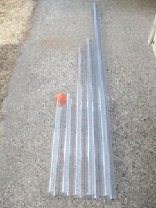 2.5 in OD CAB clear plastic tube 59 in (1.5 M) long. 2.31 ID 1/8 wall Vibracore