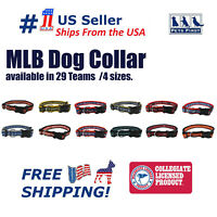 Pets First MLB Collars - Heavy-Duty, Durable & Adjustable Collar for Pet Dog Cat