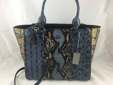 100% auth COACH exotic embossed leather bag (new)