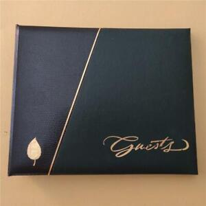 HALLMARK Stories Guest Book Album Any Occasion or Event Refillable Binder NIB