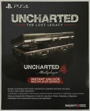 Uncharted 4 Instant Unlock Multiplayer Bundle DLC Add-On for Playstation 4 PS4