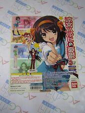 Melancholy of Haruhi Suzumiya HGIF Series Part 1 Gashapon Toy Machine Paper Card