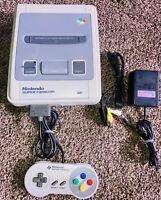 Nintendo Super Famicom SNES SFC Japan Import Console Controller Adapter Set