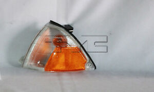 Parking/Side Marker Light Reflector for 89-94 Geo Metro/Chevy Sprint Left Side