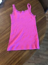 Cherokee Girl's Tank Top Size L (10-12) Pink
