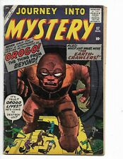 "JOURNEY INTO MYSTERY 57 - G+ 2.5 - ""OROGO! THE THING FROM BEYOND"" (1960)"